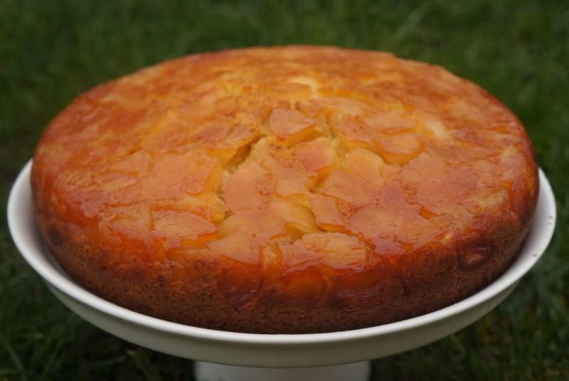 Gâteau renversé aux Pommes façon Tatin