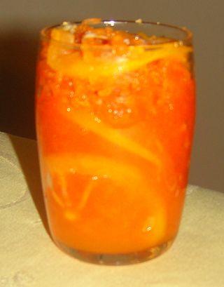 Confiture de carottes au citron