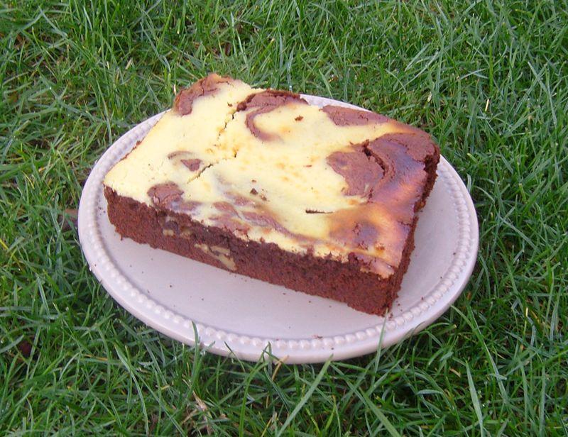 Brownie Chocolat Vanille au Fromage frais