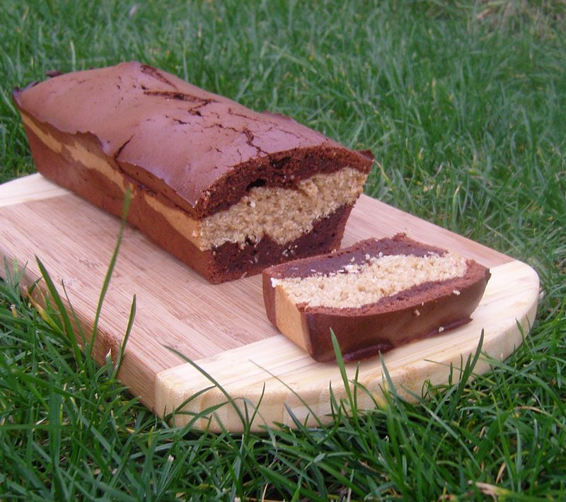 Cake chocolat noix de coco doudoute