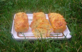 Mini Cakes Carottes fanes et Lardons