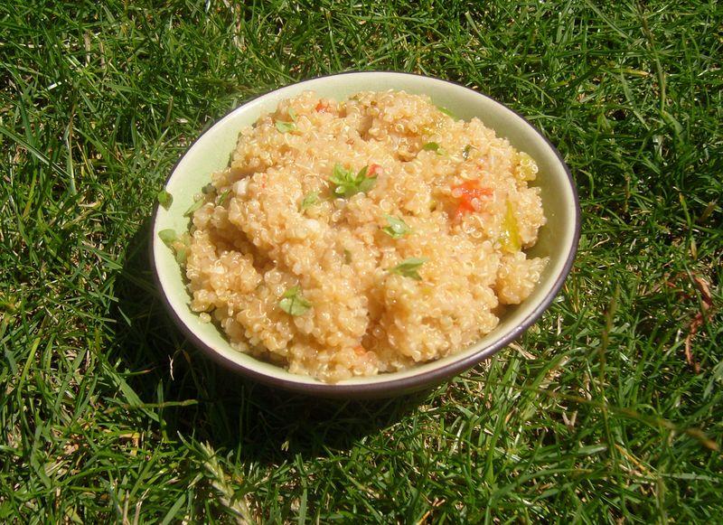 Risotto de Quinoa aux Trois Tomates