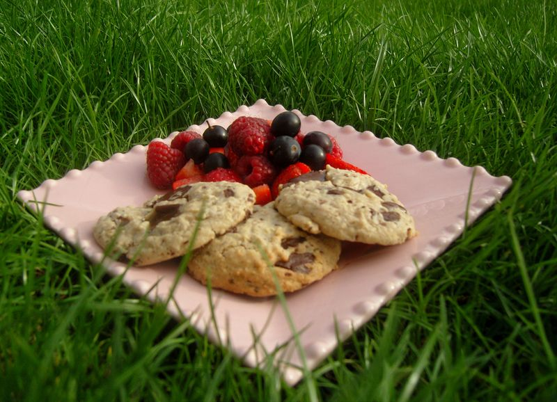 Cookies Chocolat Noir Flocons d'Avoine
