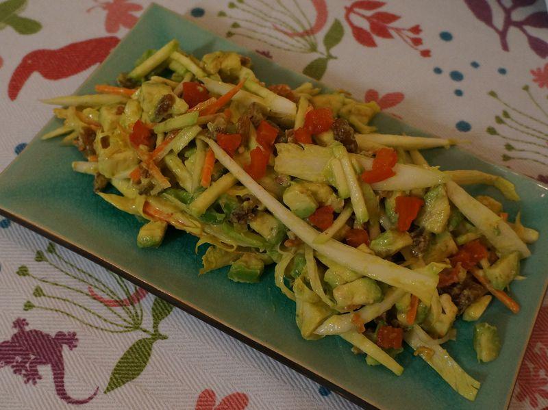 Salade Vitamine d'Hiver Sauce Savora 2