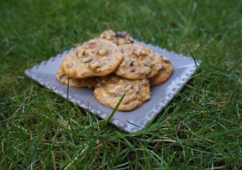 Cookies  Raisins Cranberries Myrtilles Framboises Flocons d'Avoine sans matière grasse