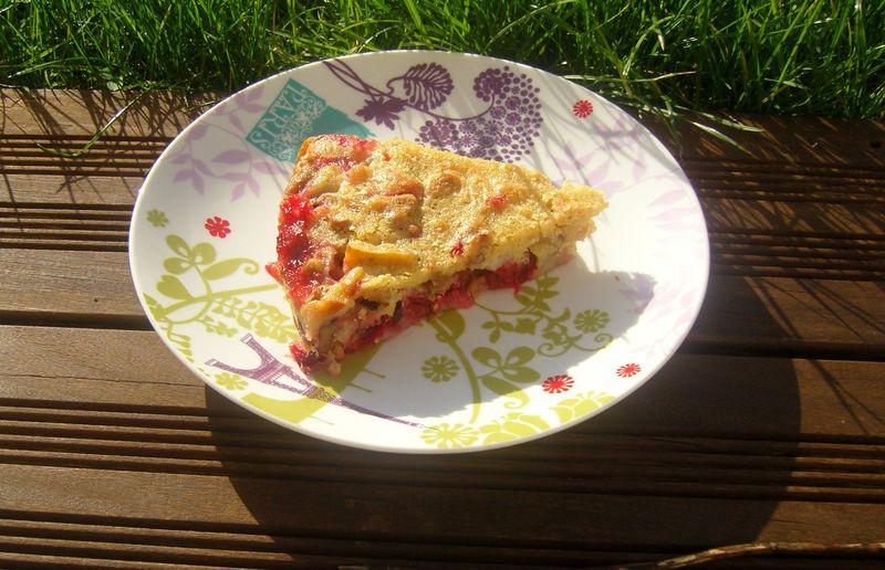 Gâteau aux fruits du nouveaux monde