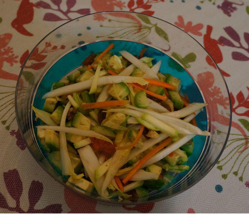 Salade Vitamine d'Hiver Sauce Savora