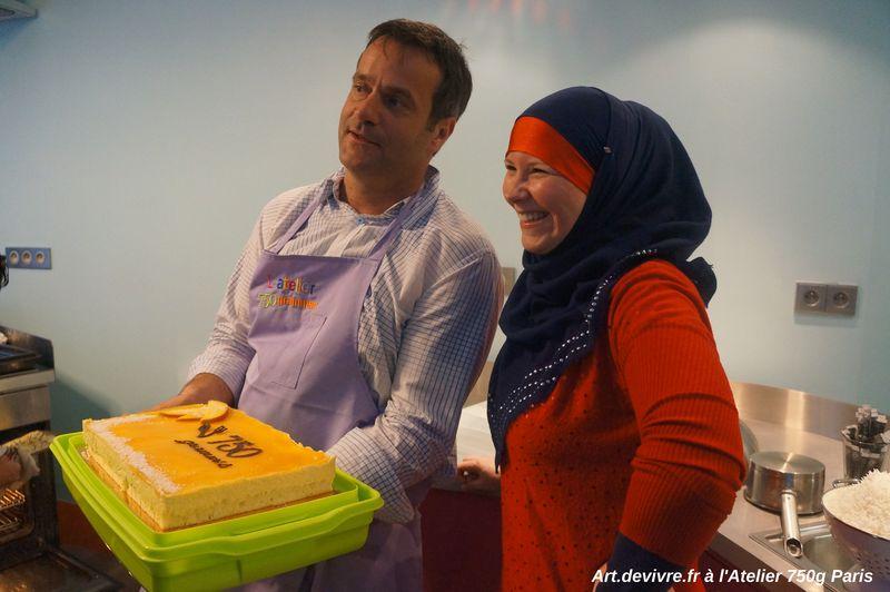 PressCook Chef Damien et le gâteau à la mangue V2