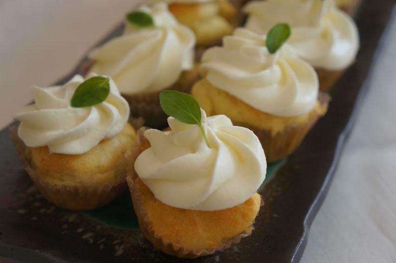 Cupcakes Brebis Frais Origan