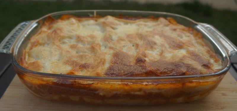 Lasagne au boeuf et aux quatres fromages