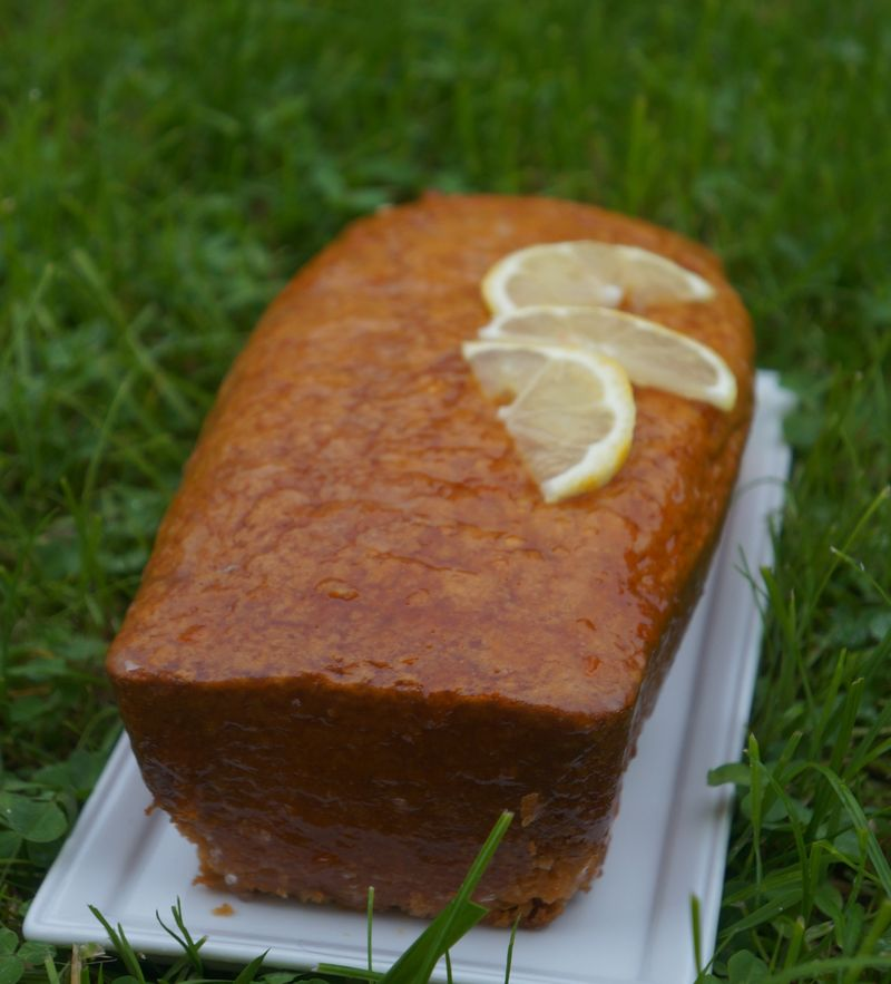 Cake au citron Christophe felder