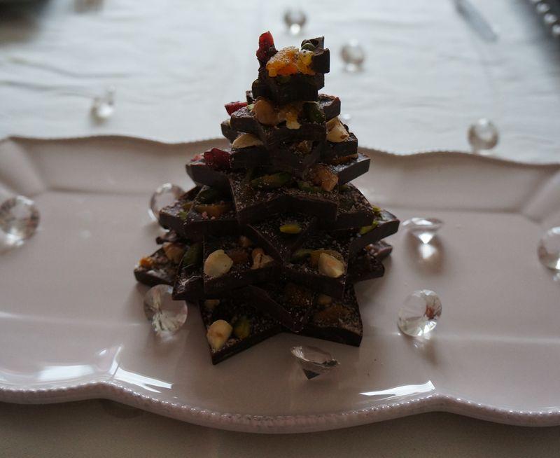 Art de Vivre  Sapin en chocolat ZOOM