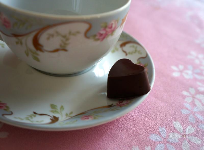 Chocolat Coeur Framboise