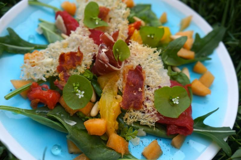 Salade Melon Jambon de Parme