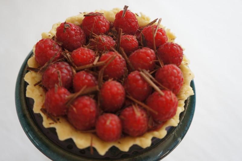 Tartelettes Chocolat Framboises inspiration Alain Ducasse Nicolas Berger