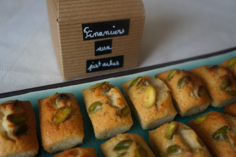 Financiers aux Pistaches