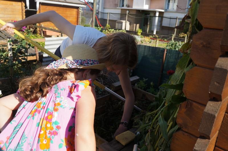 A la découverte du compost