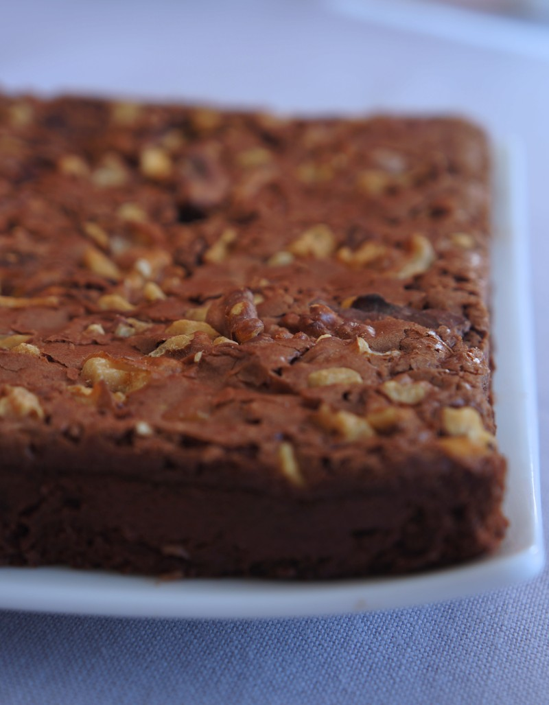 Brownie Tuerie inspiration valrhona