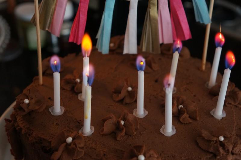 Gâteau au Chocolat Anniversaire Nina