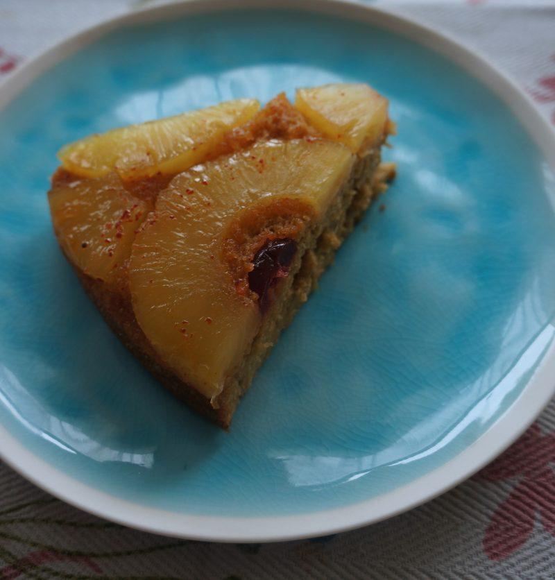 Renversé à l'Ananas et Piment d'Espelette