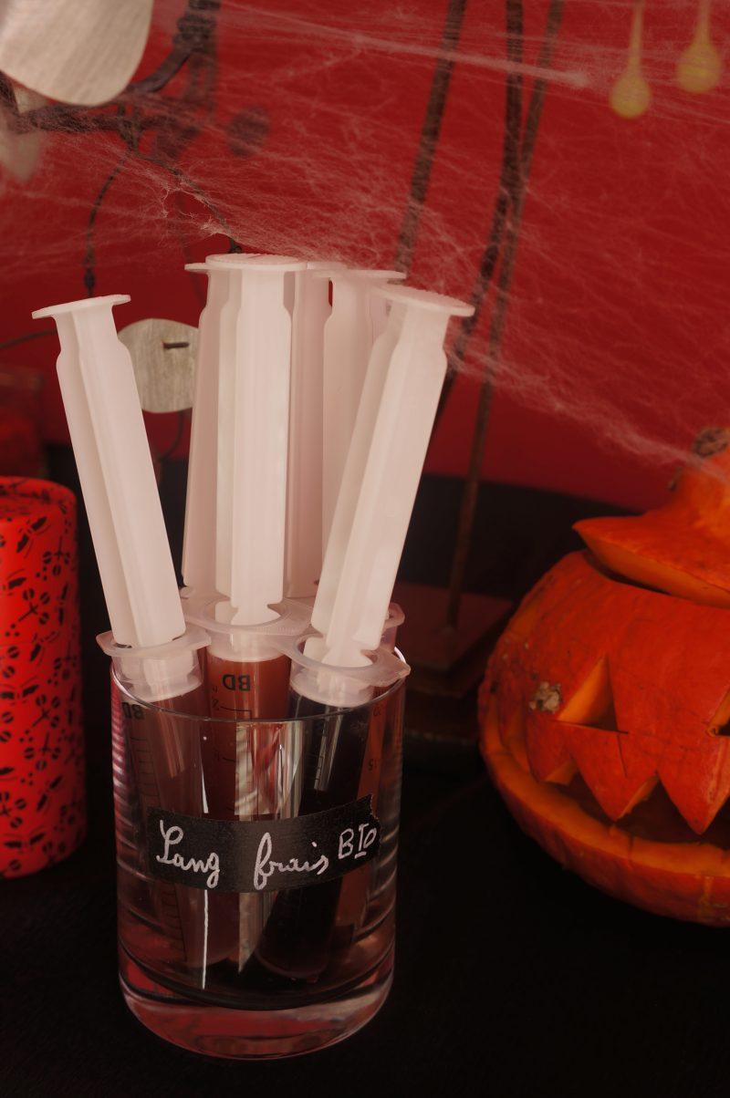 Sang Frais Bio pour Halloween