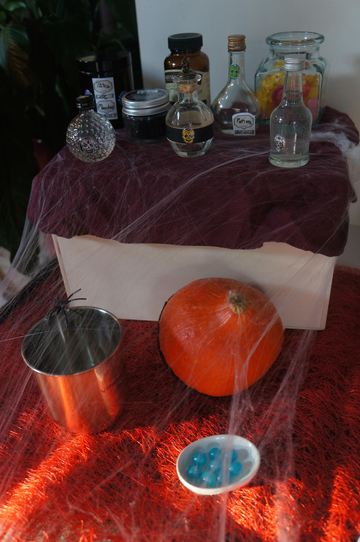 Potions et Toiles d'araignées