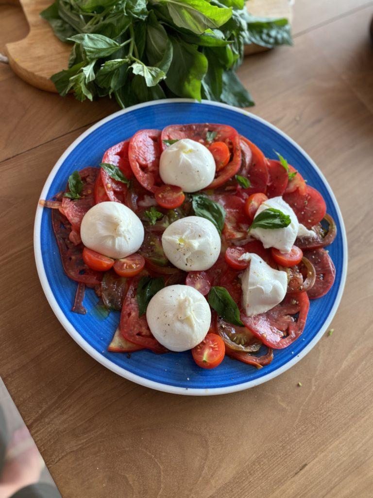 Tomates & Burratina